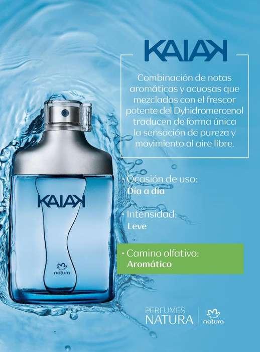 Perfume kaiak clasico masculino de natura