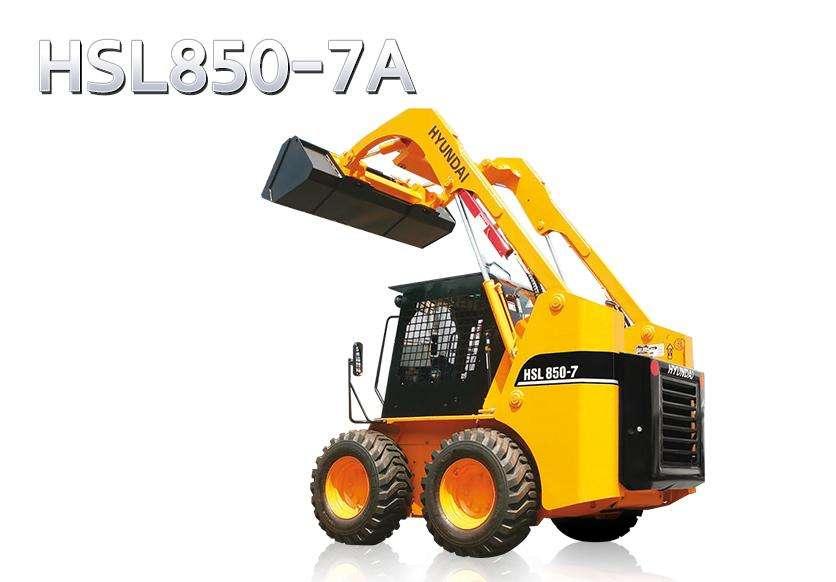 MINICARGADORA HYUNDAI HSL850-7A 72 HP