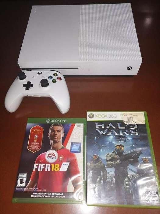 Xbox One S 1 Tera 2 Juegos
