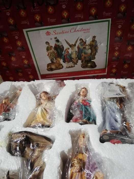 Hermoso Pesebre Marca Santini Christmas