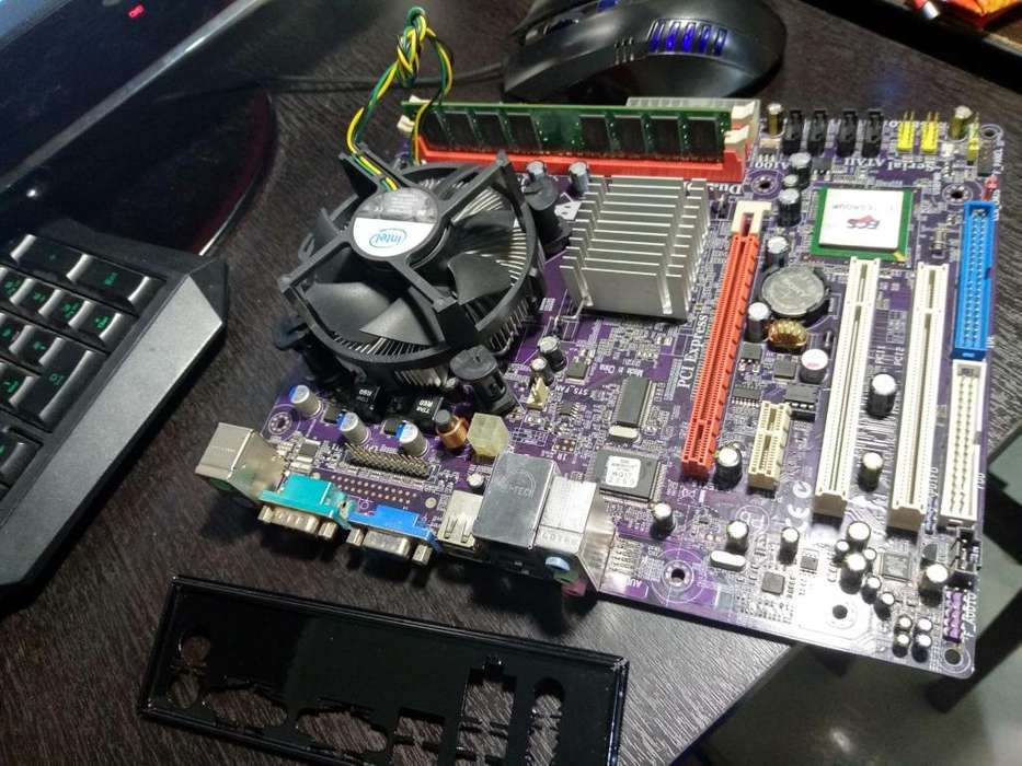 board intel ecs cor e2 duo e4500 y 2gb ddr2