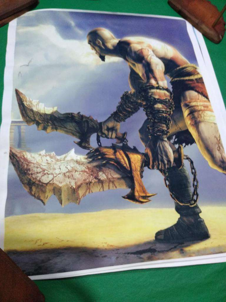 Poster Katos God Of War de 50 X 60 Cm