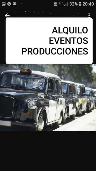 Taxi Ingles Alquilo Eventos
