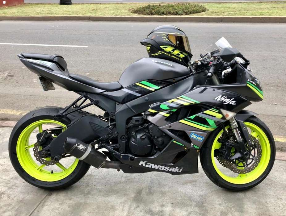 Kawasaki Ninja ZX6R No R6 R1 CBR 600 GSXR 600