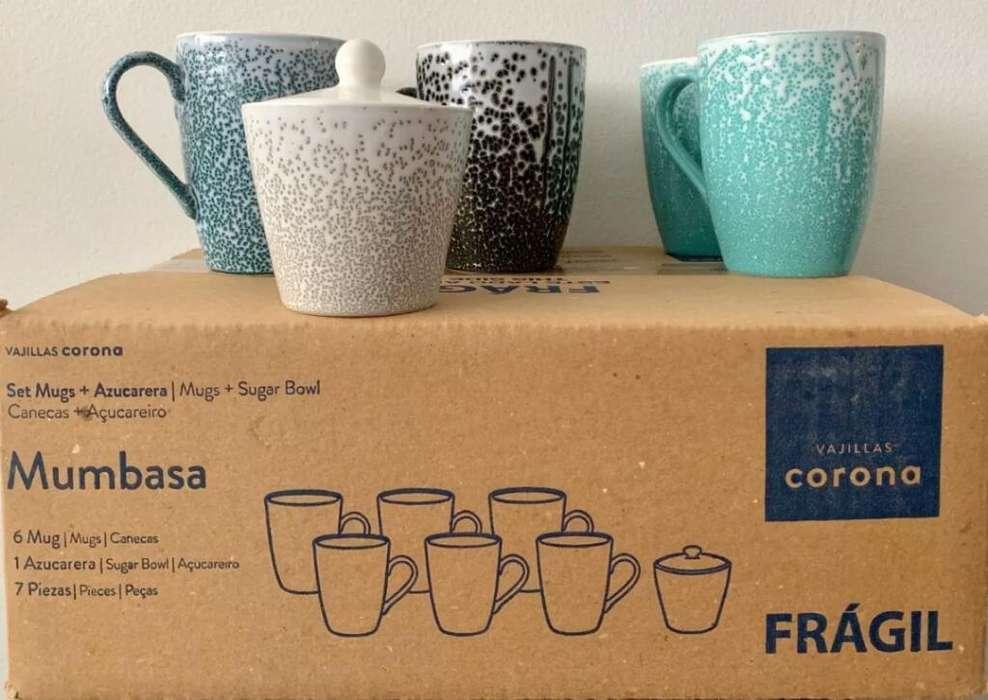 Set de Mugs Corona