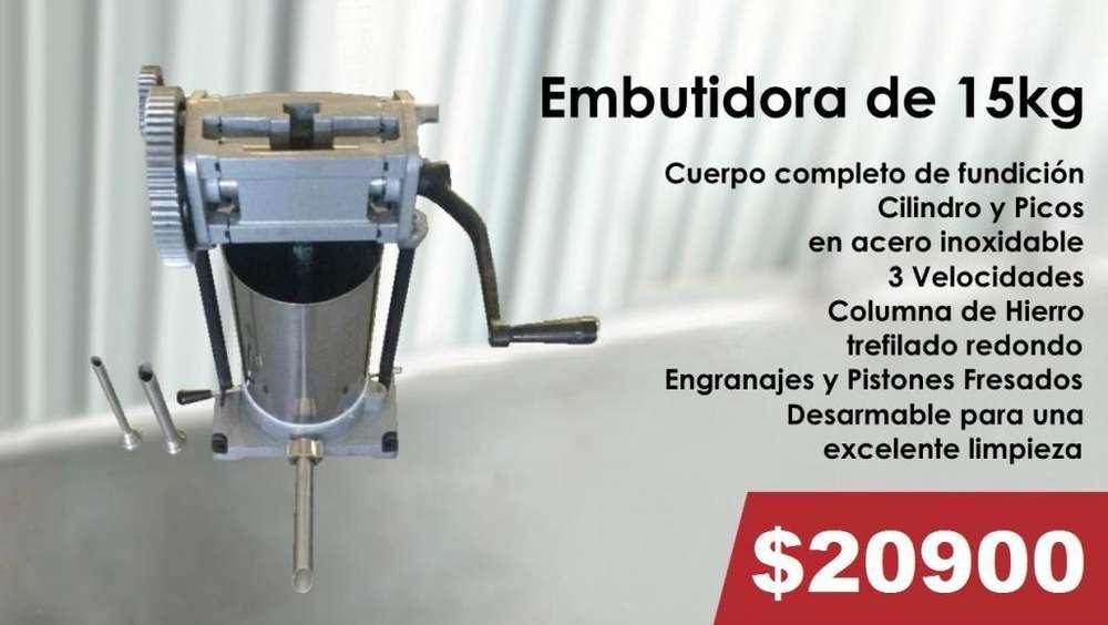 EMBUTIDORA DE 15KG