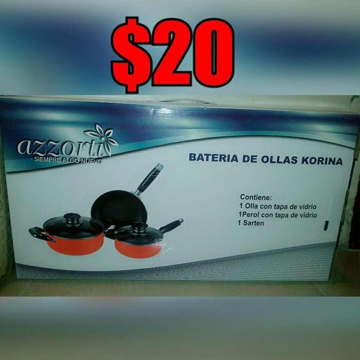 Ollas, Bbq Electrico, Ice Cream