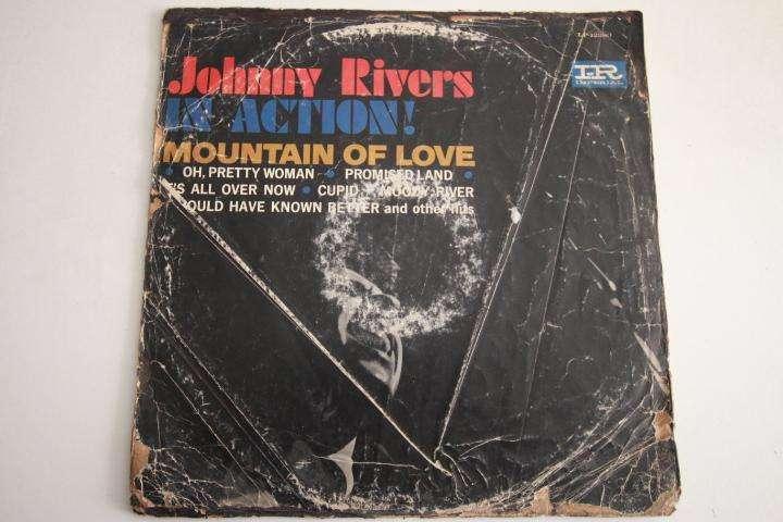 johnny rivers in action LP vinilo edición perú rock 60s