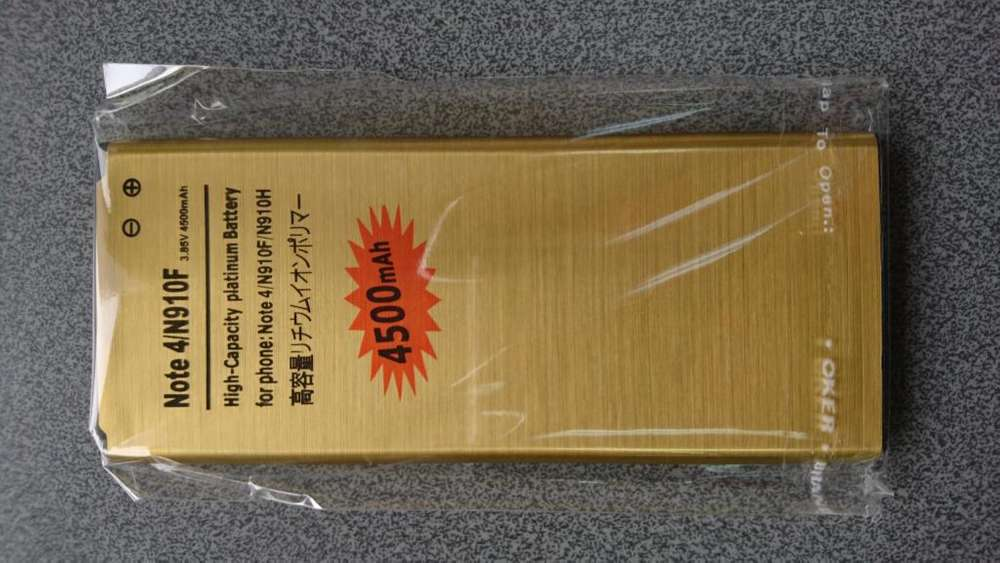 Batería Premium Larga Duración Samsung Galaxy Note 4 4500mah