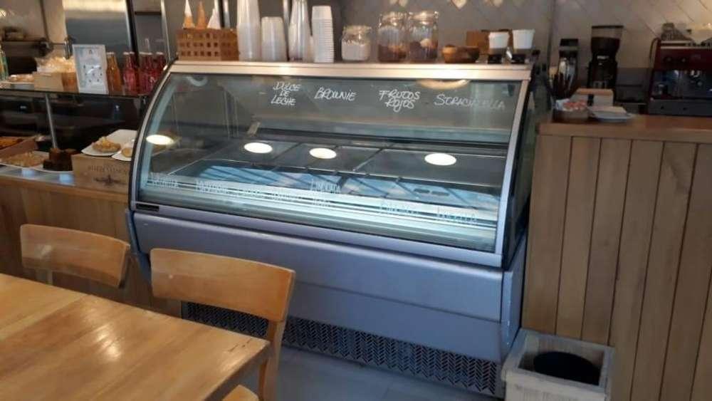 Vitrina para helados ITALIANO GELATO ITALIANO TAYLOR 24 cubetas