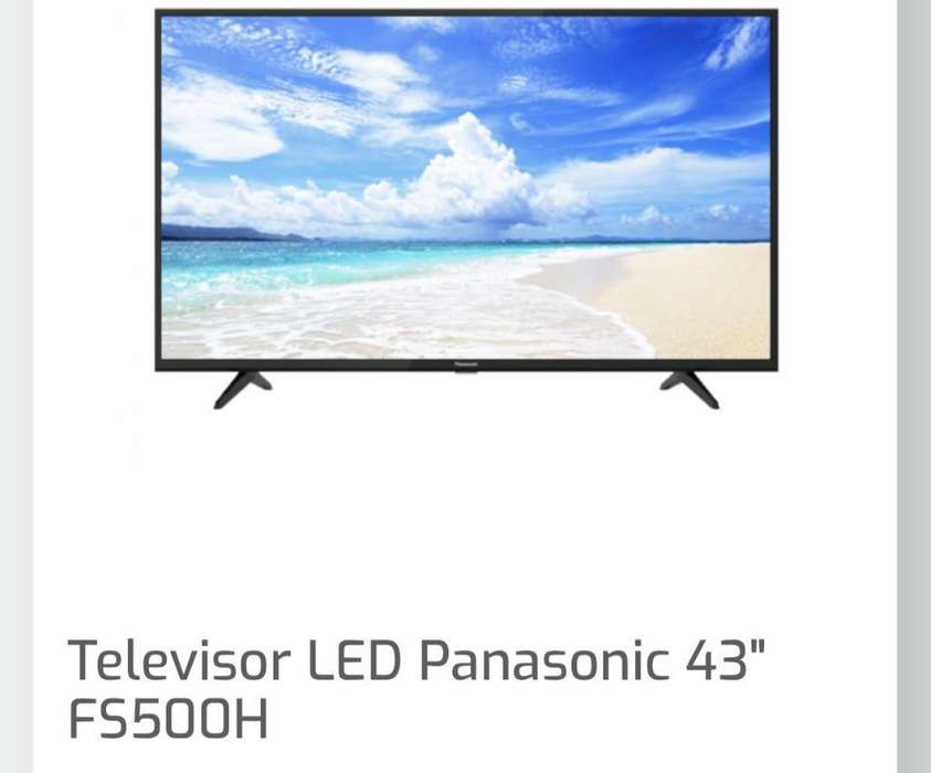 <strong>televisor</strong> Panasonic 43 Pulgadas