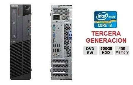 Cpu Core I3 Tercera Gen. Ram 4 Hd 500 gb/ SOMOS TIENDA MASTER TEC 1.0