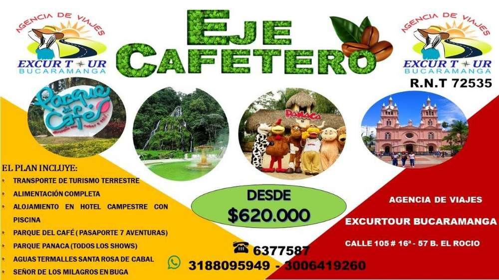 Tour Eje Cafetero desde Bucaramanga