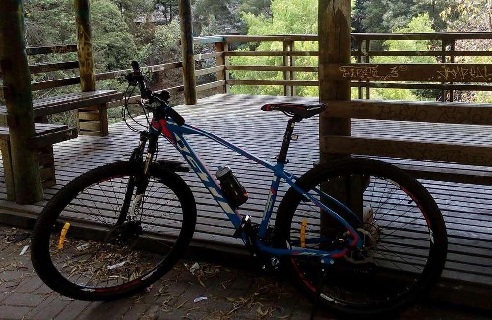 <strong>bicicleta</strong> gti aro 29 frenos hidrulicos