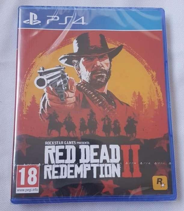 Red Dead 2 Rdr2 Fisico 2discos