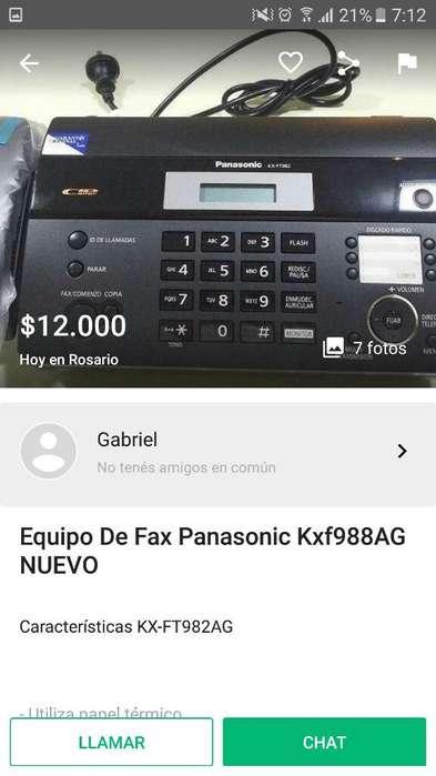 Liquido O Permuto Telefono con Fax