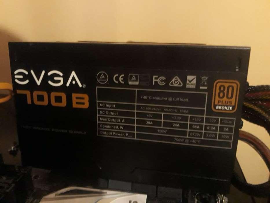 Fuente Evga 500w 80