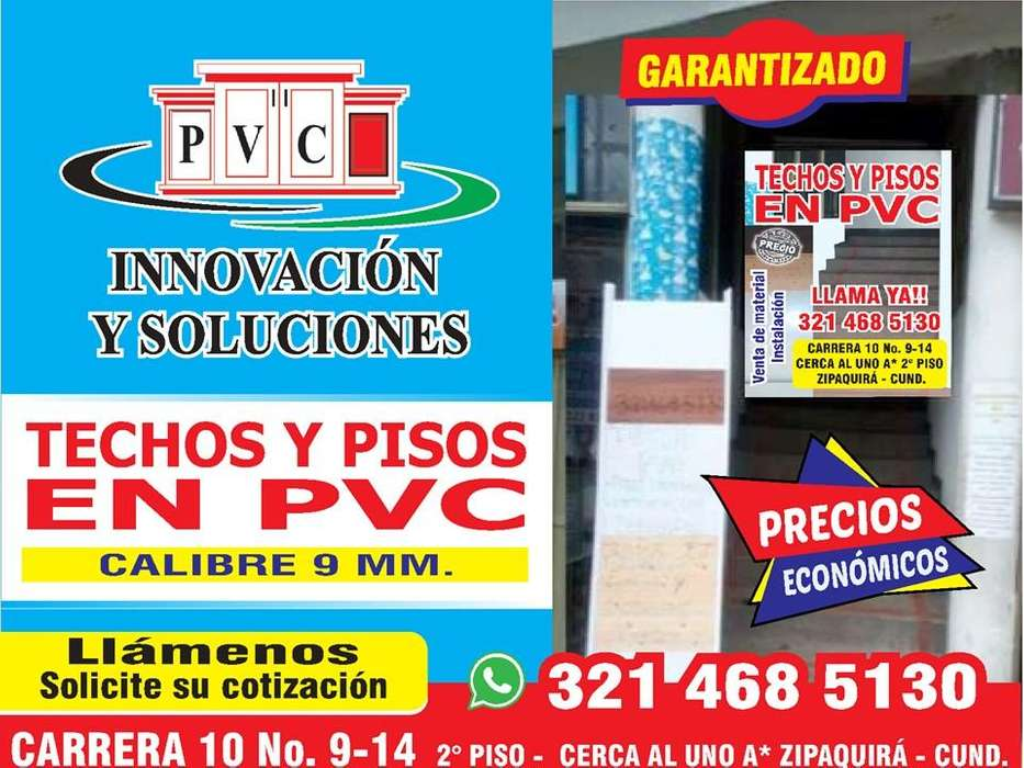 TECHOS EN PVC