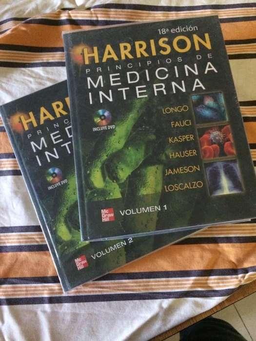Libro de medicina Interna Harrison Edicion 18