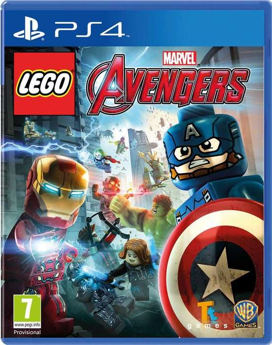 LEGO AVENGERS PS4 FISICO PLAYSTATION 4