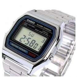 607e3d1926e7 ... Reloj CASIO A158W-1DF Clásico Vintage Retro ...
