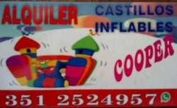 Alquiler de Castillo ,metegol Y Tejo