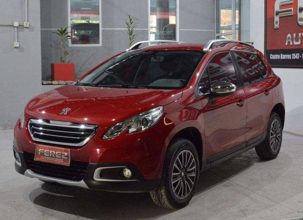 Peugeot 2008 active 1.6 nafta 2016 5 puertas impecable!!