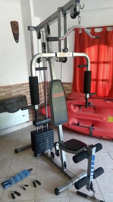 Multi gym reforzado con accesorios y flete includo a punta y bahia