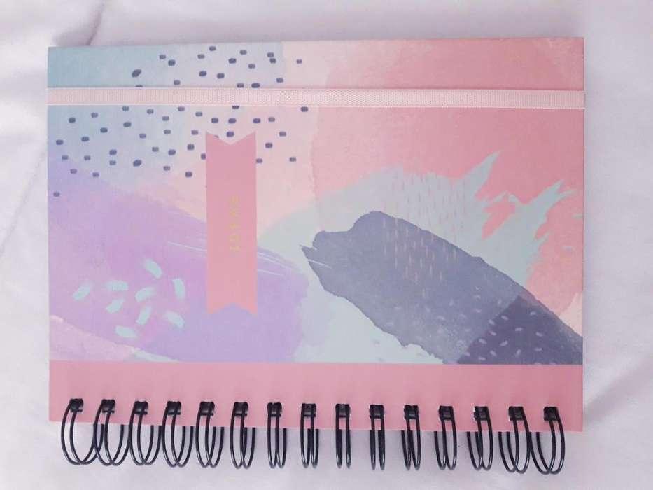 Cuaderno para bocetos ISADORA