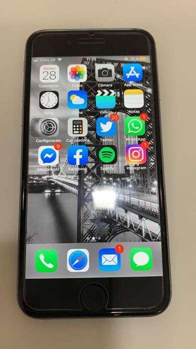 Iphone 6s Libre 16GB Impecable en caja (acepto Tarj.)