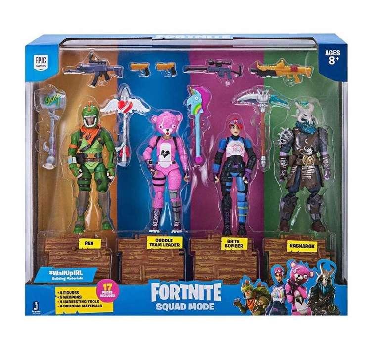 Hbk Fortnite Squad Pack 4 Personajes