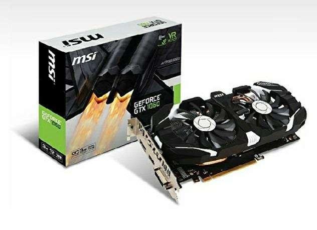 Tarjeta De Video Msi Gtx 1060 3gt Oc Nvidia Geforce 3gb