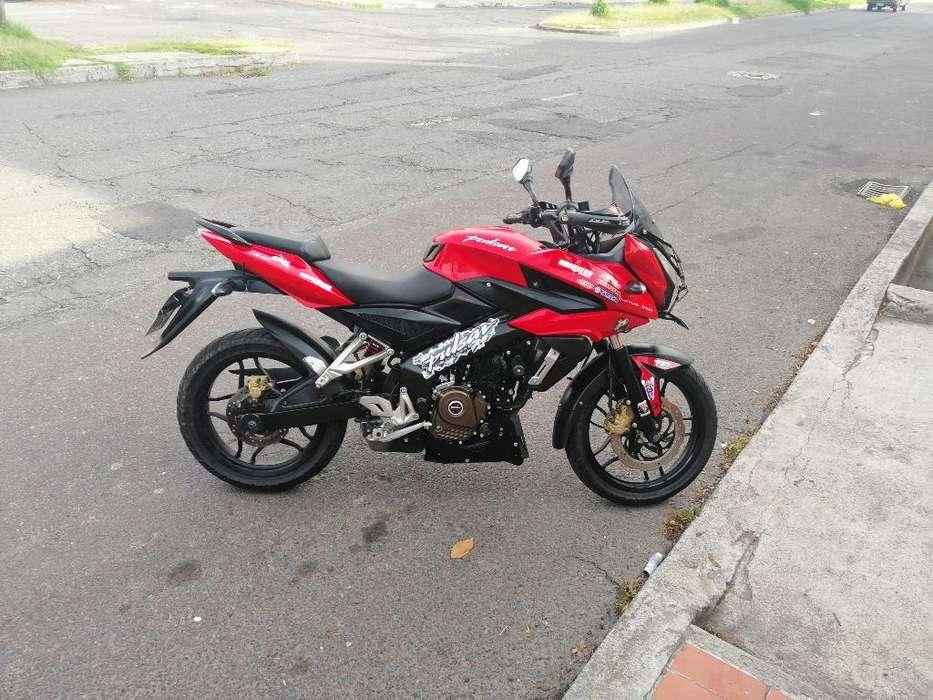 Pulsar As200 Como <strong>nueva</strong> Recibo Moto Mas