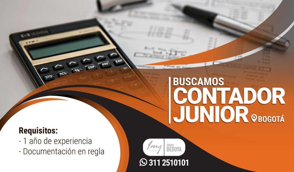 Se solicita Contador Junior (Aplicaciones al número de la publicación)