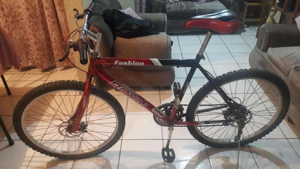 <strong>bicicleta</strong> royale roja 6 velocidades