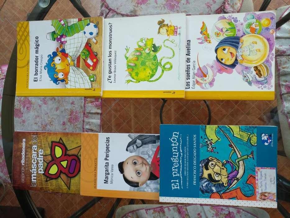 Varios libros <strong>infantiles</strong>