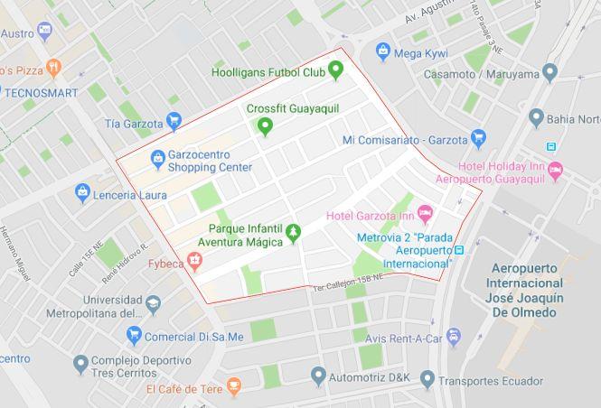 Av Guillermo Pareja, 280m², Principal, Comercial, Terreno en venta, Garzota