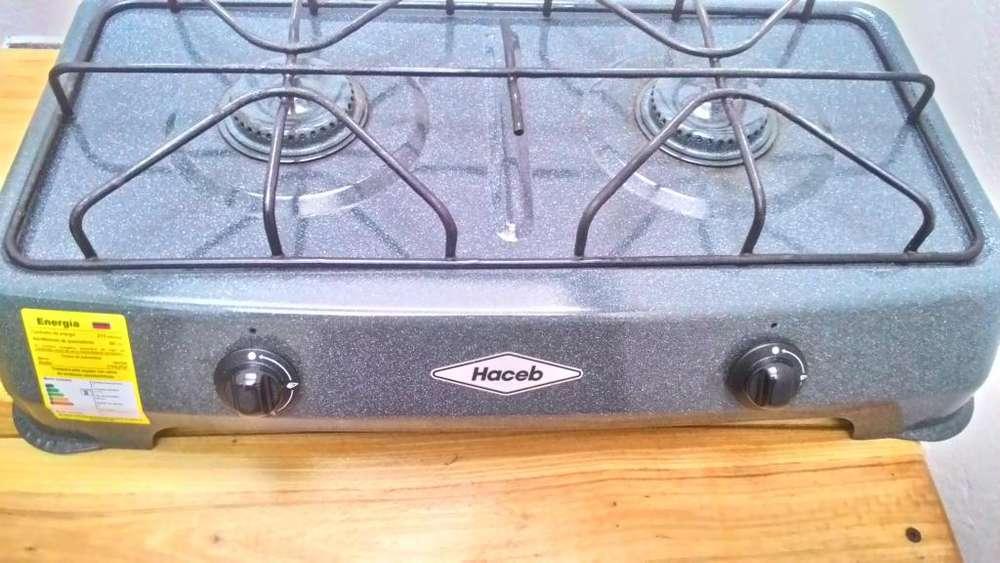 GANGA Cocineta Haceb Gas Propano Estado 10/10