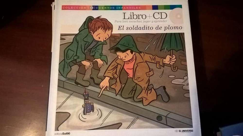 Colección de 9 Libros más 9 CDs interactivos. Incluyen juegos, comprensión de lectura, etc.