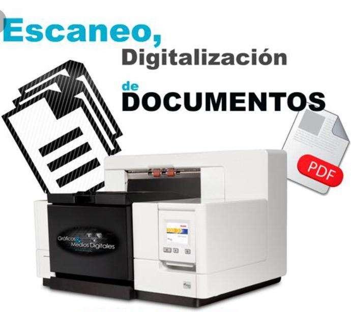 Digitalizacion de Documentos Escaner