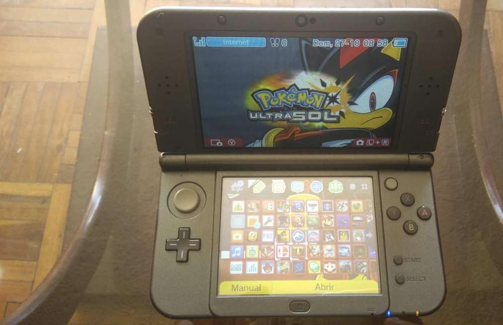 NEW NINTENDO 3DS XL CON FBI FULL JUEGOS SD 32 GB