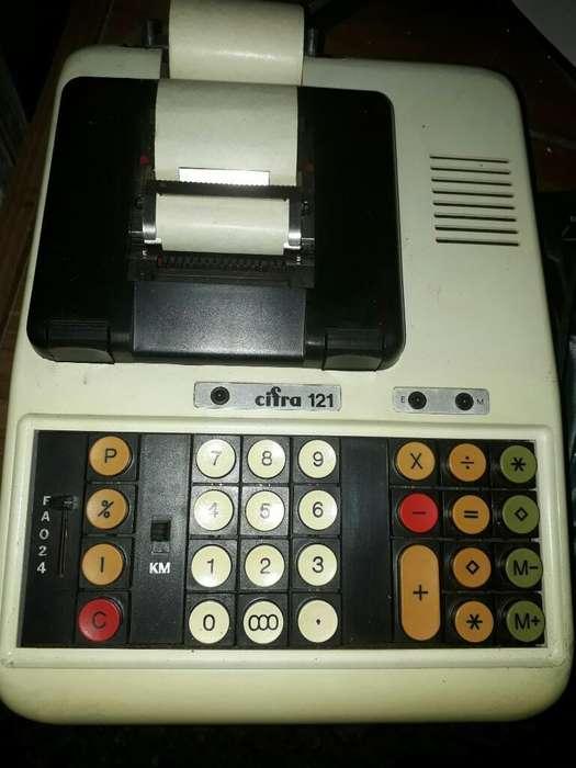 Maquina Cifra con Papel