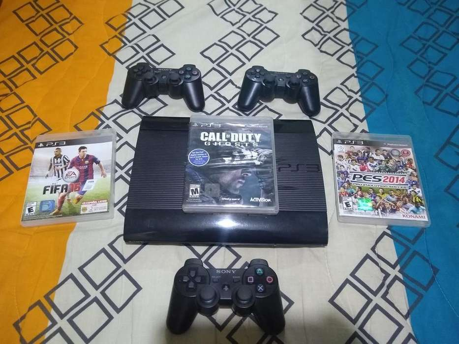 Playstation 3 250g 3 Controles