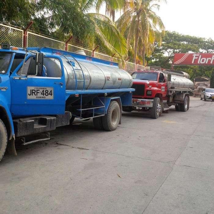 transporte de agua en carrotanque ibague. melgar girardot espinal 314 2414587