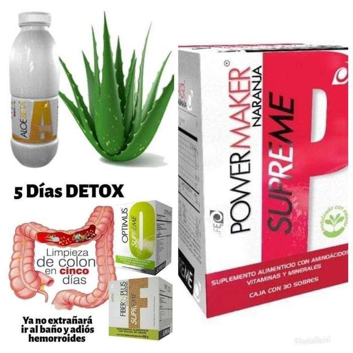 Kit Elimina Gastritis Aloe Fiber Power