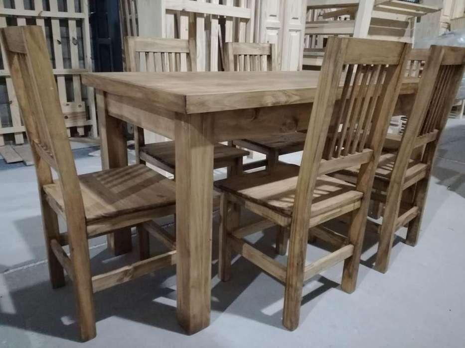 *** Mesa y <strong>sillas</strong> (directo de fabrica) ***