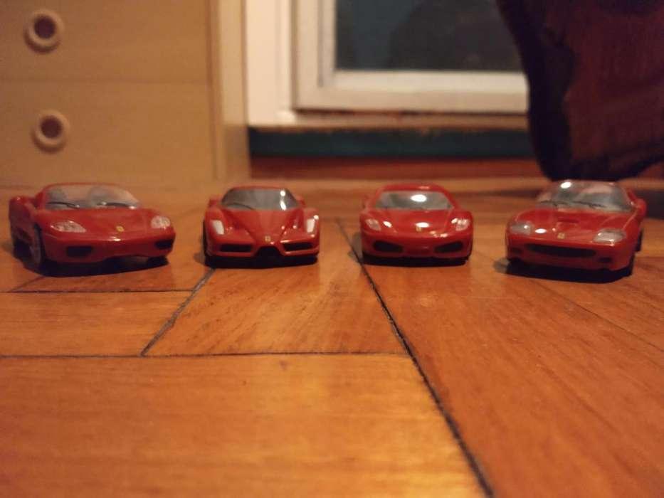 Set X4 Ferrari Coleccion Shell