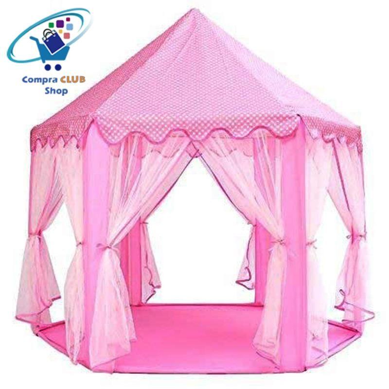 Carpa de juego para niños castillo de princesa tienda de campaña  disponible en tres colores