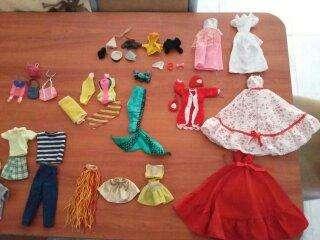 Ropa para vestir a tus Barbies y Ken