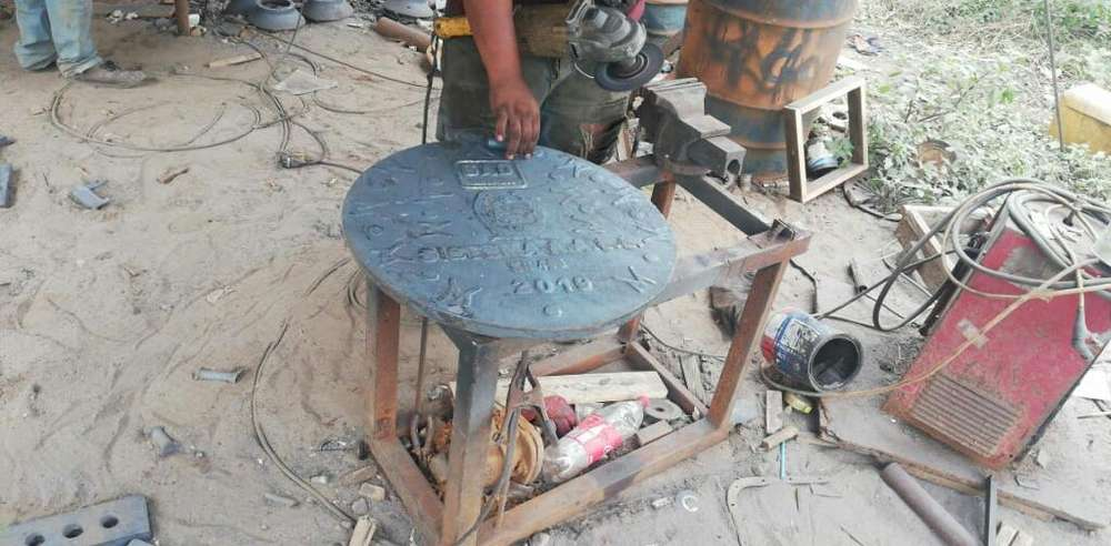 Fabricacion de Rejillas Tapas Sumideros